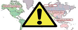 Travel-Warning-Map